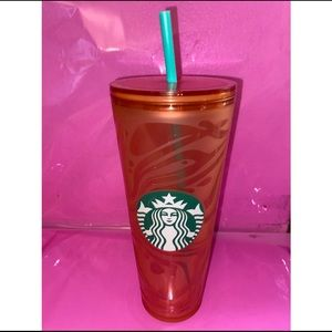 💫Starbucks Orange swirl Tumbler💫